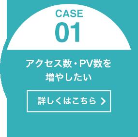 [CASE01]アクセス数・PV数を増やしたい